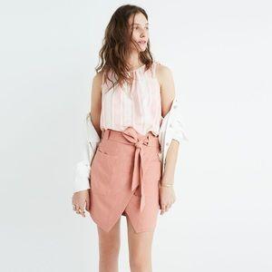 Madewell Portside Wrap Silk Skirt - NWT Size 4